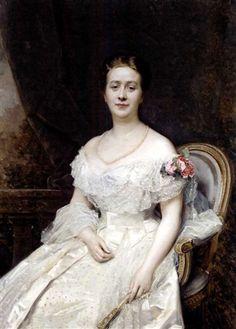 Raimundo de Madrazo - Retrato de la Condesa Musella