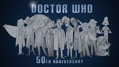Amazing animation featuring every incarnation of the Doctor so far.