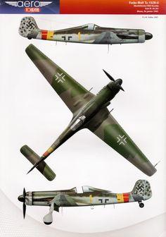 Aérojournal FW Ta 152H-O/Camo Pattern
