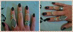 Meu Visual Joias e Semi-joias Consignadas: Invista nos anéis de falange