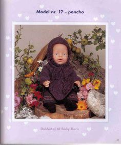 Album Archive - Dukketøj til Baby Born 2 - Ingelise Knitting Dolls Clothes, Doll Clothes, Baby Born, Views Album, Barbie Dolls, Knitting Patterns, Frame, Yandex Disk, Archive