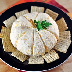 Big Pumpkin Cheese Ball | 29 Party Snacks That Are Perfect For Halloween