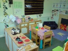 Bring an essential component of your children's development into the home or classroom with this home corner role play pack. Preschool Kitchen Center, Kids Play Kitchen, Kitchen Ideas, Play Corner, Corner House, Kitchen Corner, Class Displays, Classroom Displays, Home Corner Ideas Early Years