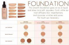 Sept. 1 we will have naturally based liquid foundation! choose what's right for you! #foundation #skin #naturalmakeup