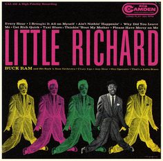 little richard 1956-Camden record sleeve