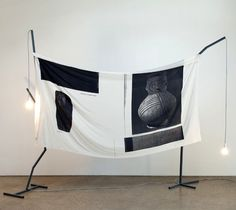 Christopher Hanrahan, Collated/unionised banner/artwork for TS, 2012, exhibited in 'Museums Have the Same Problems As Unions', Sarah Cottier Gallery, Sydney