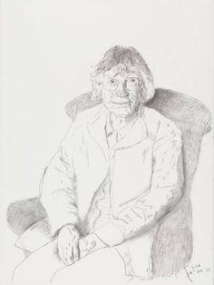 David Hockney 'Margaret Hockney' (2013)