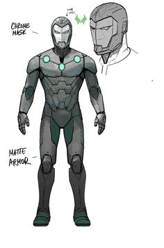 "Infamous Iron Man (Dr. Victor Von Doom) | ""Infamous Iron Man"" Armor Concept Art by Alex Maleev"