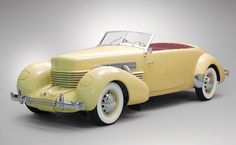 1936 Cord 810 Supercharged built by Auburn.  The best car company you never heard of most likely.