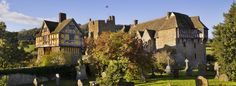 Stokesay Castle is quite simply the finest and best preserved fortified medieval manor house in England. Set in peaceful countryside near the Welsh border, the castle, timber-framed gatehouse and parish church form an unforgettably picturesque group.    Lawrence of Ludlow, a wealthy local wool-merchant wishing to set up as a country gentleman, bought the property in 1281.