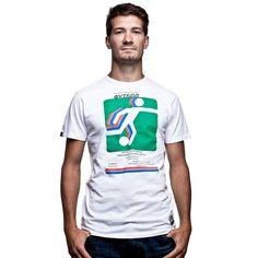"""Alma Ata vintage shirt - COPA vintage shirt met als thema Alma Ata, het voormalige Almaty in Kazachstan, waar twee voetbalclubs actief zijn, Kairat Almaty en FC Almaty. Naast een vintage thema heeft dit shirt ook een vintage """"aged"""" look. wwww.retrovoetbalshirts.nl"""