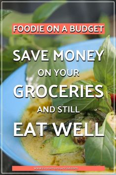 How to save money on your groceries and still eat well! Money saving tips - I'm a huge foodie and I love to eat well, but I also need to save money on groceries. Here are 20+ tips on how to save my money that let me indulge my love of food.