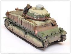 Somua by Brett Green (Tamiya Tank Armor, Model Tanks, French Army, Tank Design, Chenille, Paint Schemes, Panzer, Armored Vehicles, Tamiya