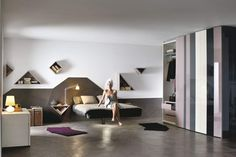 Fluttua Bed by Daniele Lago, a comfortable Bed