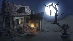 Si ayer os mostrábamos el trabajo de una alumna del master de Maya, una escena en 3D, hoy os queremos enseñar el concept de dicha escena. Este maravillo trabajo está hecho por Fabio Bermejo, alumno del Master en desarrollo visual para animación y videojuegos.  Si quieres conocer más a cerca de su autor y el proceso de realización, entra en el enlace y descúbrelo.  http://www.lboxacademy.es/alumnos/fabio-bermejo-casa-del-ahorcado/