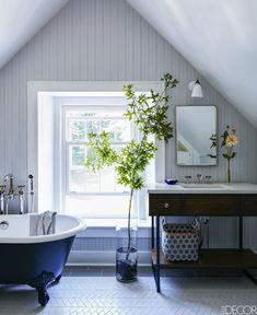 Country Bathroom - ELLEDecor.com
