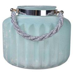 Turquoise Lula Frosted Vase