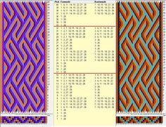 28 tarjetas, 4/5 colores, repite cada 16 movimientos / sed_757 diseñado en GTT༺❁