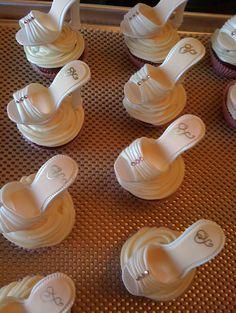 Bridal Shoe Cupcake