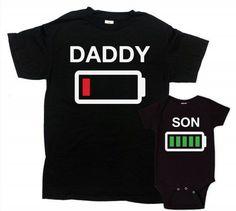 Camisetas para padres e hijos ceslava 7