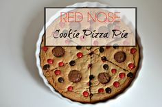 Cookie Pizza Pie : Great to bake with Kids. I am going to back it to raise money for Red nose day. This is a comic relief recipe by me!