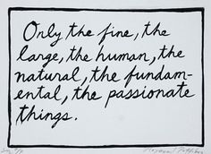 """Only the Fine"" by Raymond Pettibon"