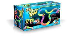 Mindscope TT255 Neon Glow Twister Tracks, 255-Pieces, 12 x 7 x 4.5-Inch NEW #Mindscope