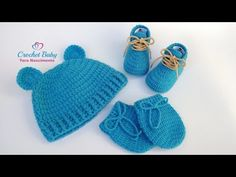 Crochet For Kids, Diy Crochet, Crochet Bikini, Knitted Hats, Crochet Hats, Crochet Baby Shoes, Sleeping Bag, Baby Kids, Crochet Patterns