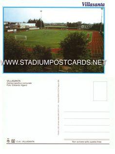 € 1,00 - code : ITA-052 - Villasanta - stadium postcard cartolina stadio carte stade estadio tarjeta postal