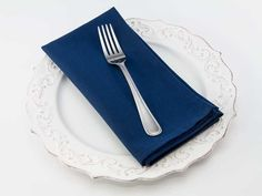 Dinner Napkin in Navy from Southern Sisters Home