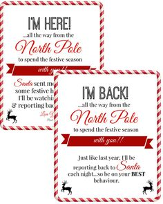 We hope this helps to have ALL Elf on the Shelf Arrival Letters in ONE PLACE! A complete index of FREE printable Elf on the Shelf Arrival Letters, updated daily, with NO dead links! We even put the newest ones at the top! Welcome Back Letter, Welcome Letters, Elf Letters, Santa Letter, Elf On The Self, The Elf, Goodbye Letter, Etsy Christmas, Xmas Elf