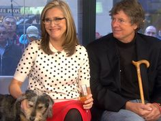 Meredith Vieira, husband trade barbs over family dog