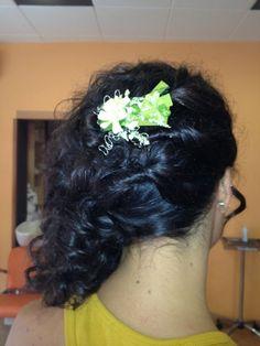#recogido #peinado #boda #flor #peluqueria #estilo #moda #wedding #hairstyle