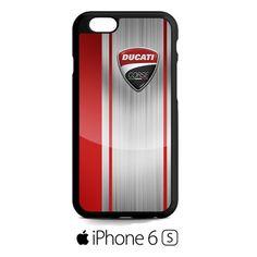 Ducati Corse Red Logo iPhone 6S  Case