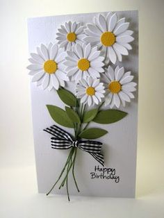 Cards | Card Making | Flowers | Scrapbook Cards | Creative Scrapbooker Magazine  #cardmaking #flowers #scrapbooking