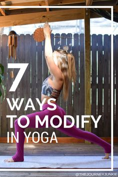 7 Ways to Modify in a Yoga Class - Pin now, read later!