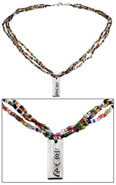 """Beads+of+Love""+Necklace+at+Global+Girlfriend"