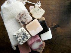 mini handmade soaps