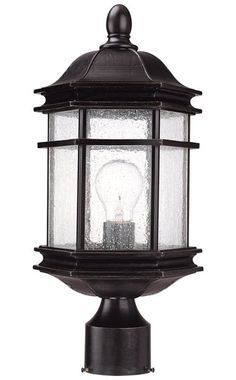 You'll love the Heintz Outdoor Post Lantern at Wayfair - Great Deals on all Lighting products with Free Shipping on most stuff, even the big stuff.
