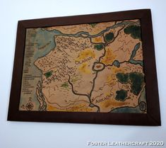 Scale Map, Unique Gifts, Best Gifts, Third Anniversary, Custom Map, Leather Craft, Hand Carved, Vintage World Maps, Carving