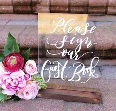 10 Gorgeous Wedding Signs We Love on Etsy