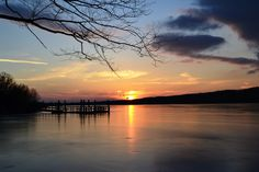 Peace Valley Park, along the shores of Lake Galena, just north of Doylestown in eastern Pennsylvania.
