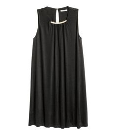 Ärmelloses Kleid | Schwarz | Damen | H&M DE