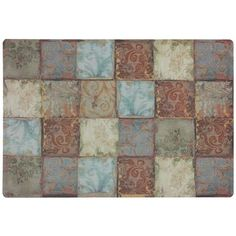 Tapestry Tiles Comfort Mat 20x30- KITCHEN MAT? Kitchen Mats, Tiles, Tapestry, Rugs, Home Decor, Room Tiles, Hanging Tapestry, Farmhouse Rugs, Tapestries