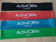 Produkttests und mehr: 4 verschiedene Fitnessbänder / Trainingsbänder / G...