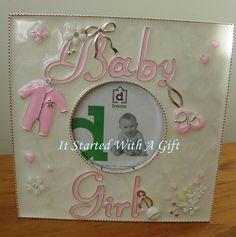 Lux Pink Baby Album 80 4x6 photos