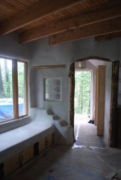 Gibbs Design and Build: Cob House, Pine Lake Environmental Institute, Hartwick College