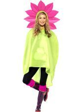 Flower Party Poncho. Be ready for the weather in this classic, cool poncho http://www.novelties-direct.co.uk/party-theme-music-festival-flower-party-poncho.html