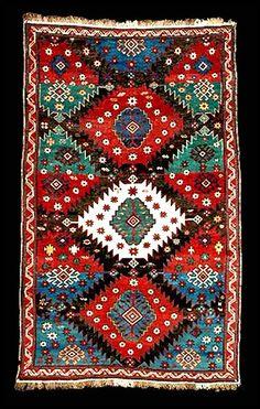 Very old Kuba rug