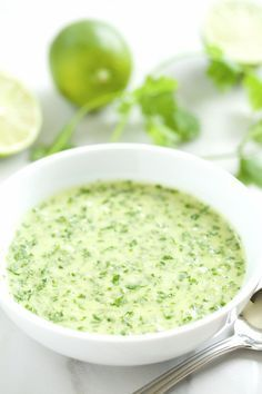 Creamy Mexican Chimichurri (made with avocado oil)   GI 365